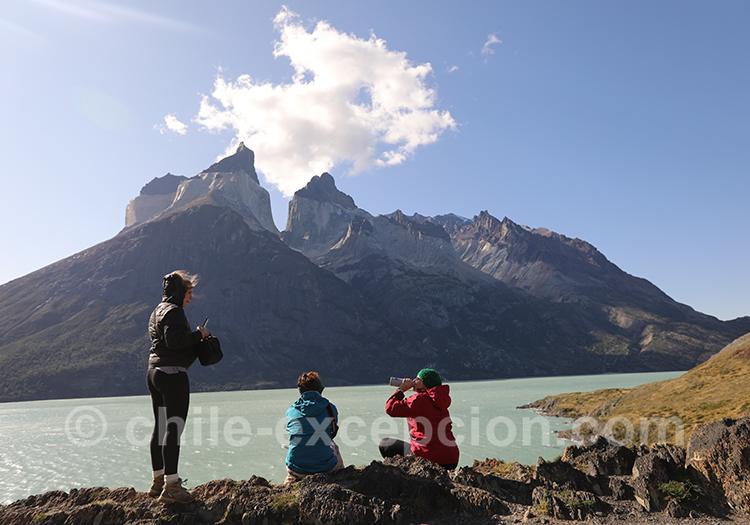 Le lac Nordenskjöld, parc Torres del Paine