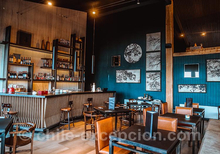 Restaurant et bar Lago Grey, Chili