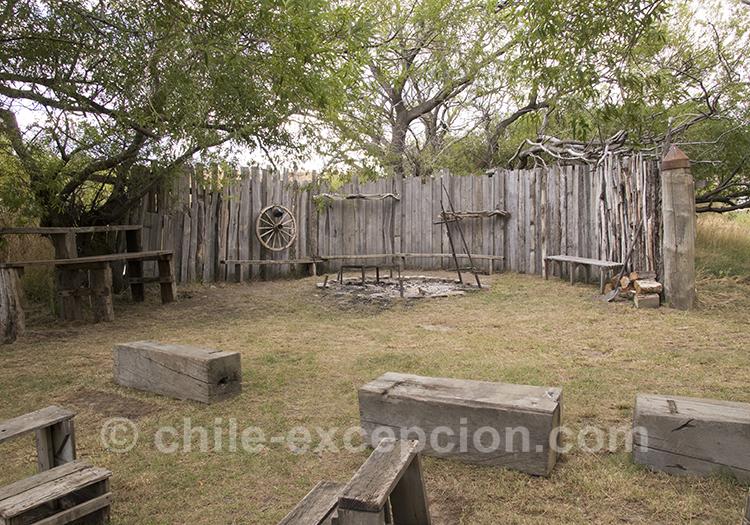 Jardin de l'estancia Cerro Guido, Torres del Paine