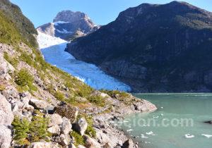 Glacier Serrano, Patagonie