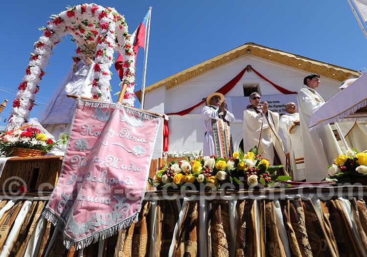 Fête de la Vierge de Guadalupe, Ayquina