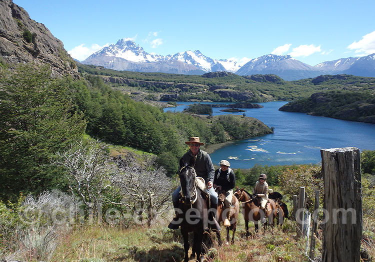 Partir en randonnée de 4 jours à cheval au Chili avec l'agence de voyage Chile Excepción