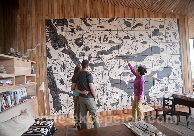 Décoration de l'hôtel Tierra Patagonia