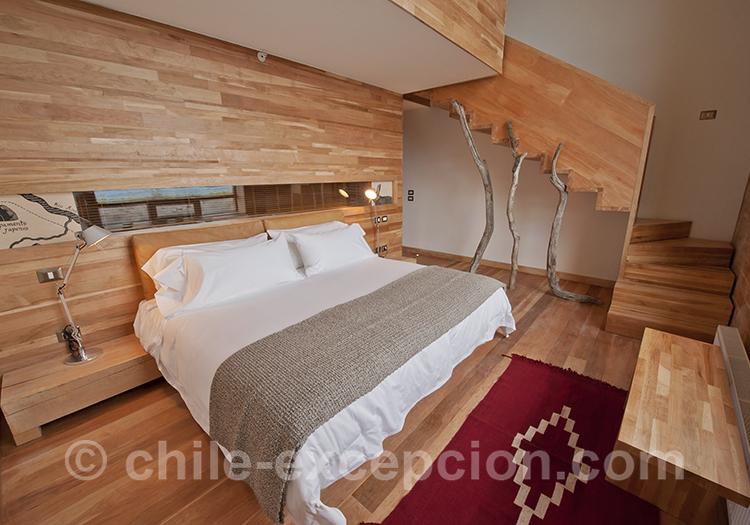 Suite de l'hôtel Tierra Patagonia
