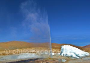 Sculpture de glace de Puchuldiza