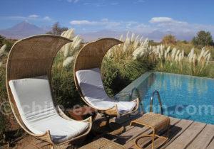 Piscine et relaxation à l'hôtelTierra Atacama