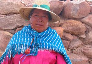 Portrait au village de Machuca