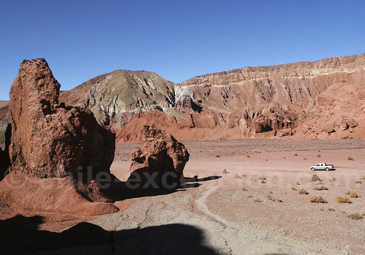 Exploration de la vallée Arco Iris, Ataca