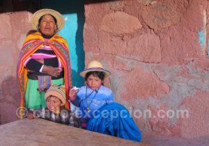 Famille aymara, Nord Chili