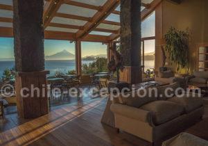 Relaxation à l'hôtel Cumbres Puerto Varas