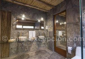Hôtel Cumbres Atacama, salle de bain