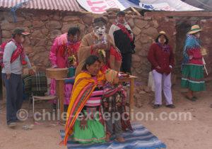 La challa, rite de la Pachamama
