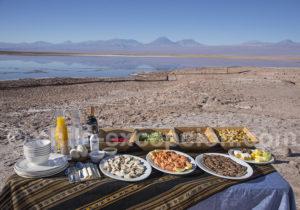 Déjeuner préparé par le Cumbres