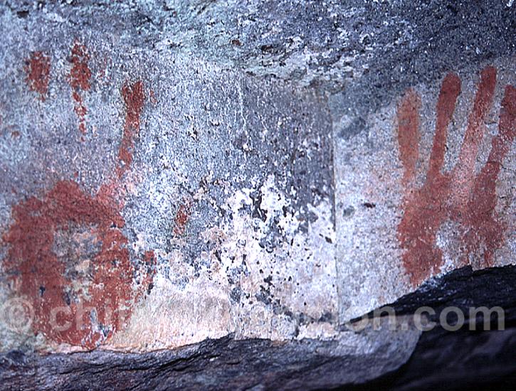 Découverte des peintures rupestres de Cerro Castillo