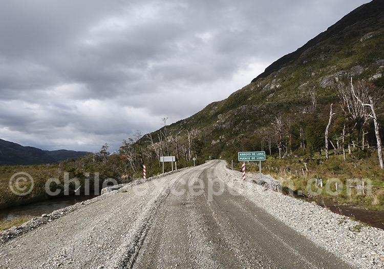 Route australe entre O'Higgins et Tortel