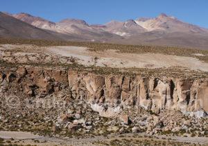 Canyon entre le Taapaca et le Suriplaza
