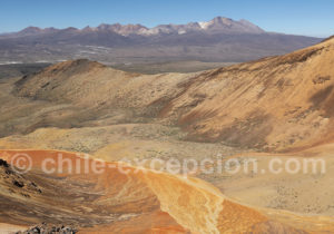 Chaîne du volcan Taapaca