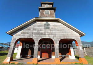Eglise San Luis de Gonzaga, région de Los Lagos