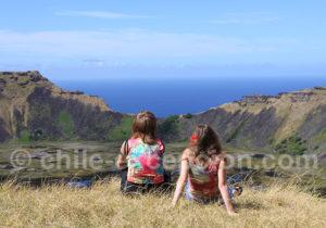 Contemplation à l'île de Pâques