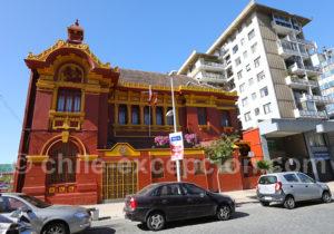 Immeuble de style asiatique, Viña del Mar