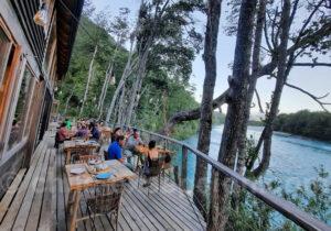 Auberge au bord du Rio Puelo