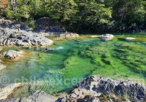 Les belles eaux de la vallée de Puelo