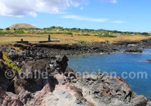 Paysages de l'île de Pâques