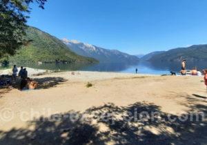 Lac Bleu, vallée de Puelo