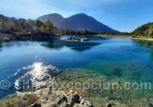 Lac Bleu, vallée de PueloVoyage au Chili
