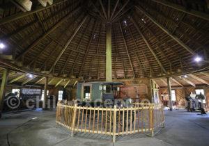 La campanario, hangar agricole au musée de Frutillar