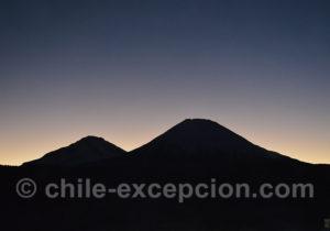 Lueur du jour à la fête du soltice d'hiver au Chili