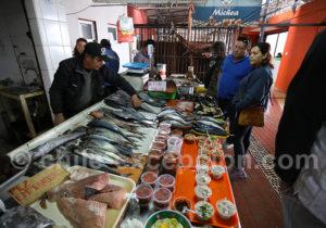 Marché aux poissons à Caldera