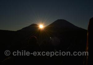 Levé du soleil, nouvel an aymara