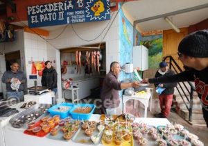 Fruits de mer du Chili, Caldera