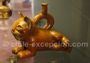 Bouteille culture Moche 1 - 200 apr.J.-C.