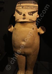 Femme culture Chancay 1000 - 1430 apr.J.-C.