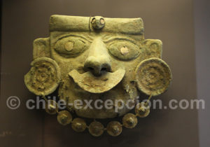 Masque mortuaire Moche 1 - 200 apr.J.-C.