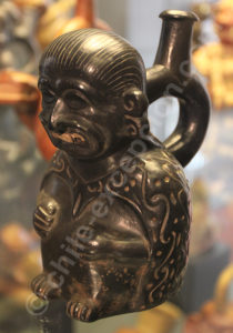 Personnage félinisé, culture Moche 1 - 200 apr.J.-C.