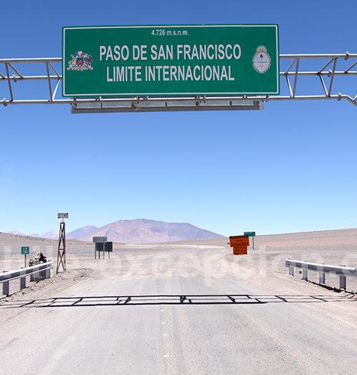 Paso San Francisco entre Chili et Argentine