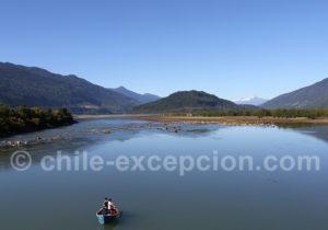 Pêche sur le rio Petrohué