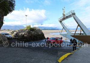 Débarquement du ferry Puerto Montt Chaitén