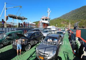 Ferry entre Caleta La Arena et Caleta Puelche