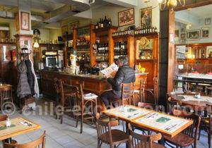 Le Normandie, brasserie française de Santiago du Chili