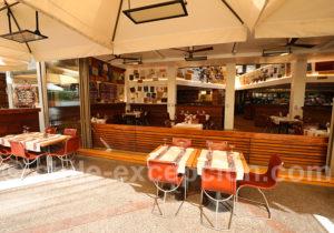 Restaurant Baco, terrasse