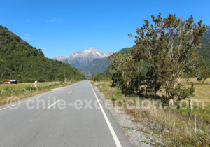 Route 7 entre Hornopiren et le Rio Blanco