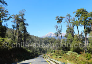 Route Australe vers Villa Santa Lucía