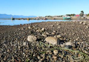 Port de Hualaihué, Patagonie