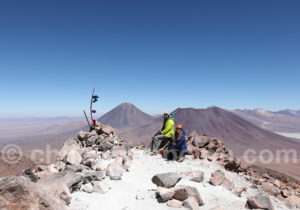Au sommet du volcan Toco