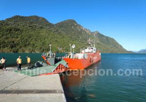 Barcaza du lac Tagua Tagua