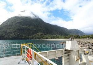 45 mn de traversée entre Fiordo Largo et Caleta Gonzalo